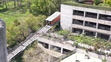 Angels Flight Railway In Downtown Los Angeles California