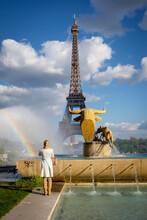 Torre Eiffel, 1889, Campo De Marte, Paris,France,Western Europe