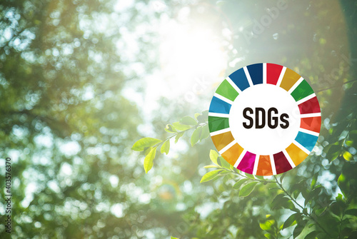 SDGsイメージ Fotobehang