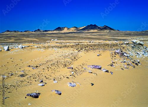 Canvastavla Desert, Egypt