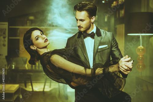 passionate tango dance