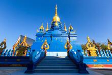 Wat Rong Sua Ten Temple, Chiang Rai Province, Thailand.