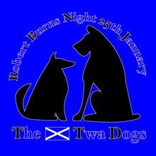 Robert Burns Night 25th January Scottish Heritage Twa Dogs Poem