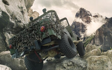 Jeep OffRoad Mountain