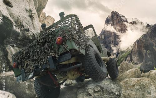 Fotografía Jeep OffRoad Mountain