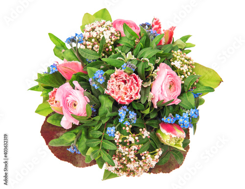 Fotografie, Obraz Spring flowers bouquet Birthday Wedding Mothers Day Easte holidays