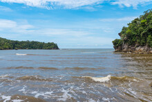 The Bay Of Teluk Tajor Is Currently The Longest Trail That Can Be Hiked In The Baku National Park. At The End Point A Beautiful Bay, At Low Tide Also A Beach Awaits The Visitor