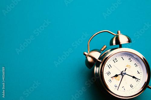 Fotografija Retro alarm clock with bell