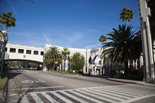 City Hall Building In Beverly Hills California.