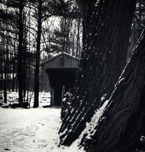Partially Hidden Covered Bridge