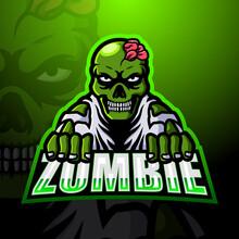 Zombie Mascot Esport Logo Design