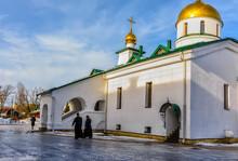 Holy Trinity Cathedral In Kolpino Санкт-Петербург. Россия.