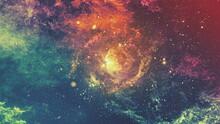A Dark Space Textures Background