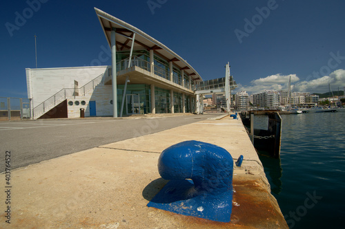 Estacion maritima.Puerto de Sant Antoni.Ibiza.Illes Balears.España.