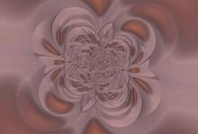 Fantastic Pink Fractal Background. Abstract Fractal Texture. Digital Art. 3D Rendering.