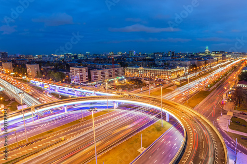 Foto Big city lights