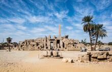 Temple Karnak In Luxor