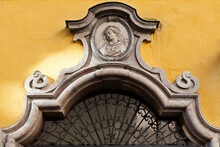 Arch Detail In A Baroque Building