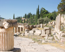 Ancient Delphi Archaeological Site, Greece