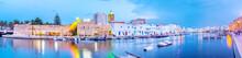 Panoramic View On Biretre's Old Fishing Port, Tunisia