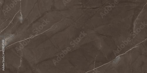 Fotografia choco brown marble texture background, Interior home decor ceramic tile surface