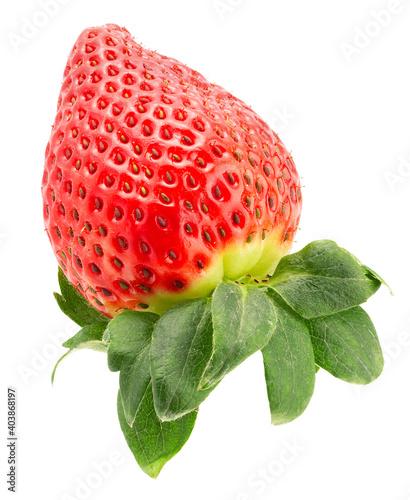 Fotografie, Obraz strawberry isolated on a white background