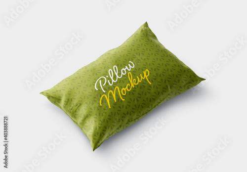Obraz Pillow Cover Mockup - fototapety do salonu