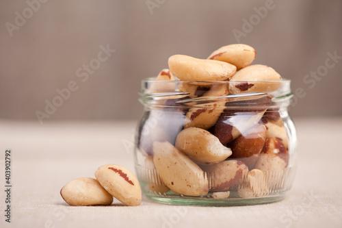 Fotografie, Obraz Cookies In Jar On Table