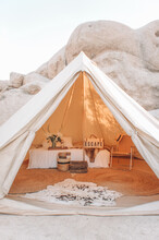 Glamping In Joshua Tree