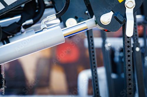 Hydraulic system on modern machine