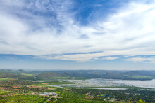 Views Of Hartebeespoort Dam And Pelindaba From The Top Of The Cable Way.