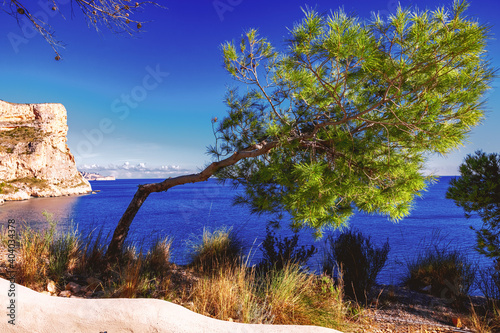 Fotografia, Obraz Shoot at Cala Moraig on 6 January 2021, Benitachell, Alicante, Spain