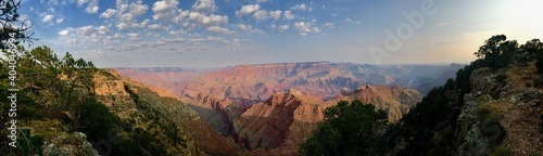 Panoramic View Of Landscape Against Sky Fototapet
