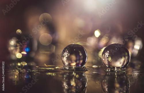 Obraz Kulki wodne - fototapety do salonu
