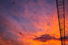 Radio Tower Sunset 8