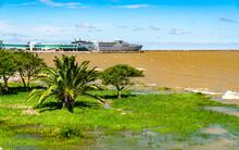 View Of The Rio De La Plata In Colonia Del Sacramento, Uruguay