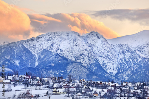 Giewont, Tatry.