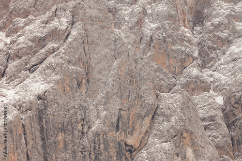 Fotomural Detail of vertical Dolomites wall in Italy