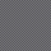 Transparency Grid Background Seamless In Gray Tones. Seamless Vector Pattern From Gray Squares.