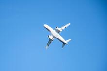 Superjet Plane In The Sky