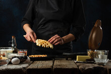 Waffle, Iron, Maker, Dessert, Food, Sweet, Making, Preparation, Cooking, Kitchen, Belgian, Wafer, Homemade, Pastry, Home, Prepare, Bake, Breakfast, Cook, Dough, Meal, Kitchenware, Bakery, Delicious, F