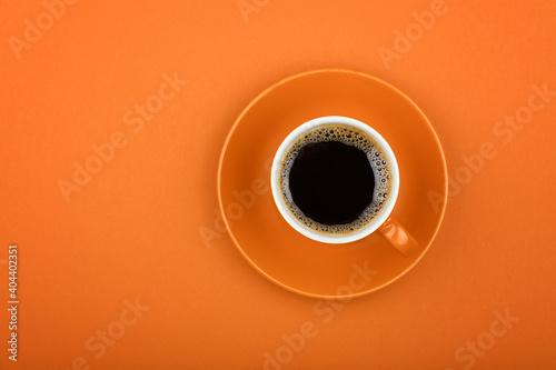 Fototapeta Directly Above Shot Of Coffee Cup obraz