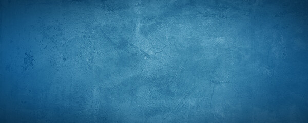 dark and blue concreate and cement wall to present product and background