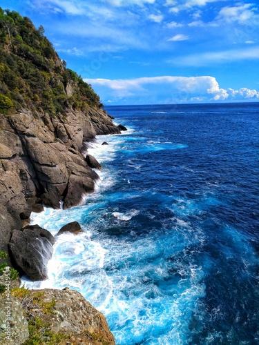 Scenic View Of Sea Against Sky Fototapeta