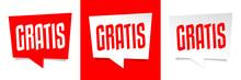 Gratis - Gratuit - Free