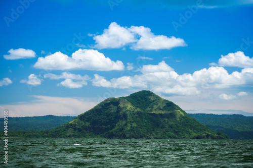 Obraz Scenic View Of Sea And Mountains Against Sky - fototapety do salonu
