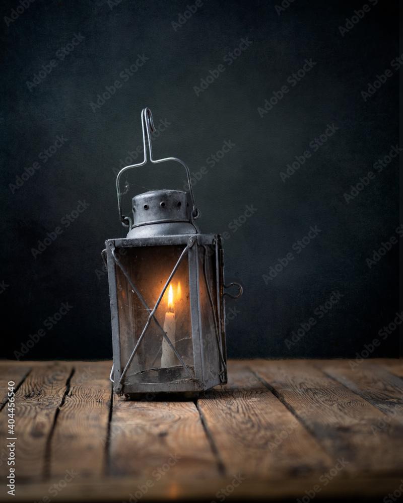 Fototapeta Światło , Lampa , stare rzeczy - obraz na płótnie