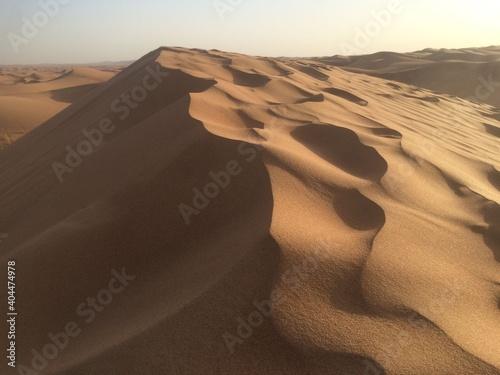 Fotomural desert sand dunes