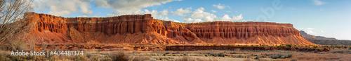 Fotografiet Rock Formations Against Sky