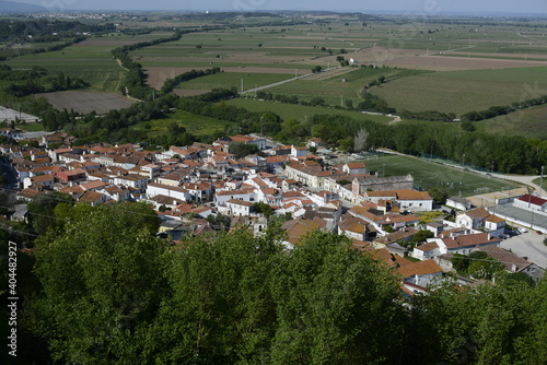 Fototapeta High Angle View Of Townscape